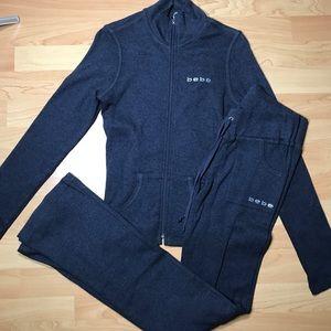 Bebe sweat suit